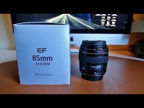 Canon EF 85mm f/1.8 USM   Revisión en profundidad