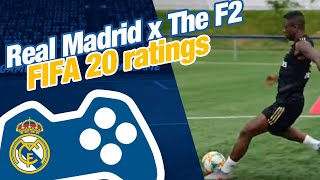 Real Madrid x The F2 | FIFA 20 ratings reveal and passing drill!