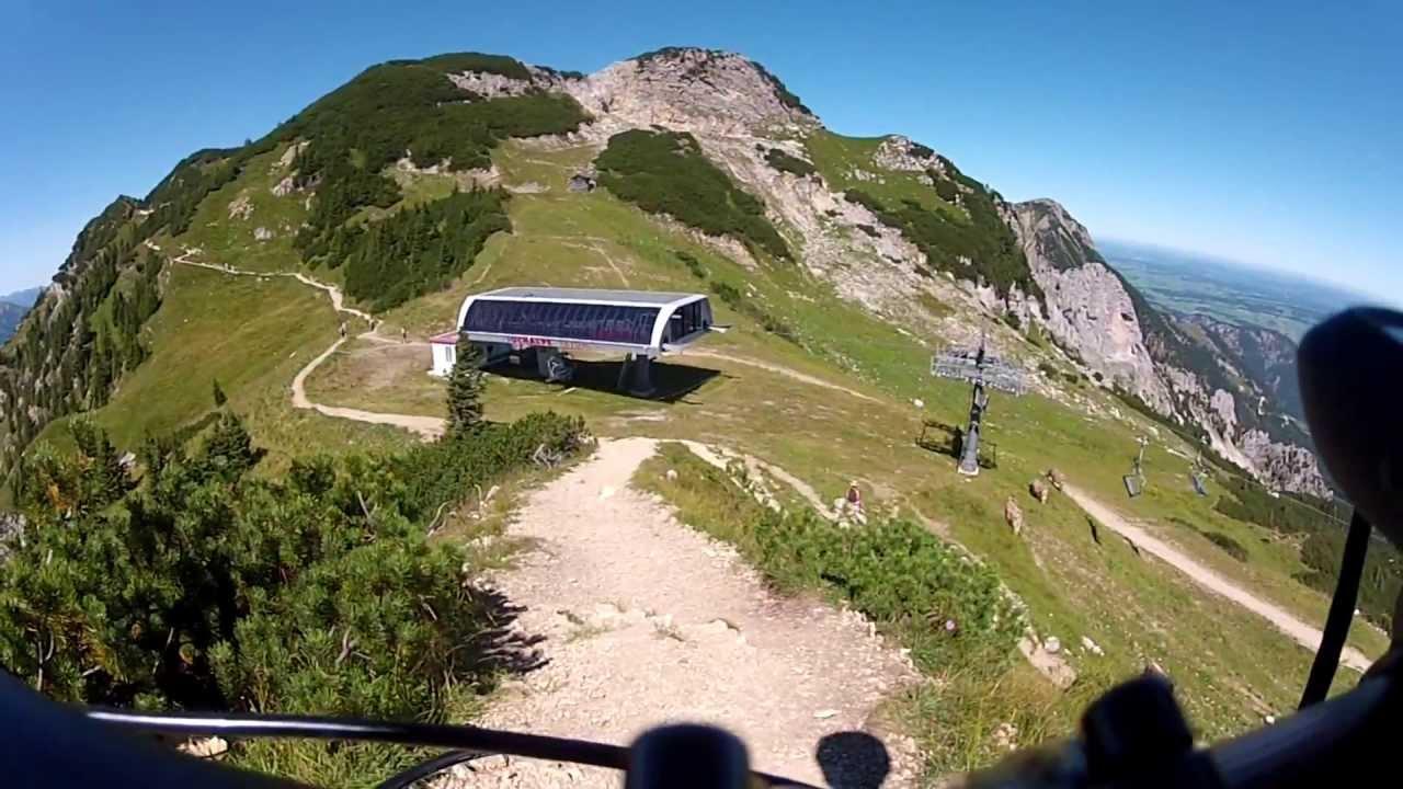 Garmin Sports Watch >> MTB Tour Tannheim-Füssener Jöchle-Gamskopf-Aggenstein (Bad ...