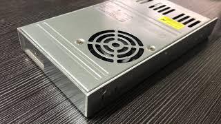 Vídeo: POWER SUPPLY 5V80A