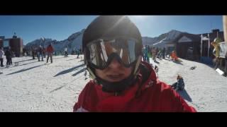 Андорра - зимний отдых 2017, Андорра-ла-Велья, трассы GRANDVALIRA, термальный СПА Caldea(Андорра - зимний отдых, дорога из Бенидорма в столицу Andorra Андорра-ла-Велья, снежные спуски горнолыжного..., 2017-02-14T07:42:13.000Z)