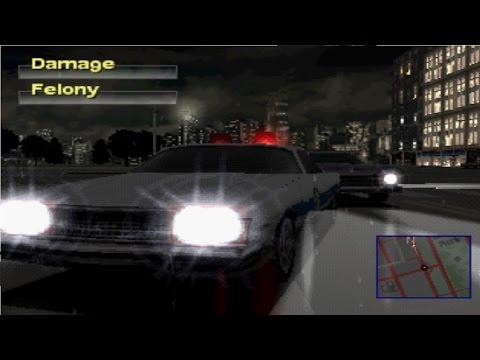 Driver 2 Take A Ride PS1 Chicago Rain & Havana Dawn Gameplay