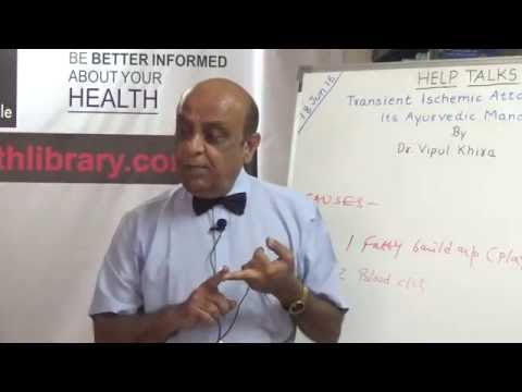 Transient Ischemic Attack & It's Ayurvedic Management By Dr. Vipul Khira HELP Talks Video