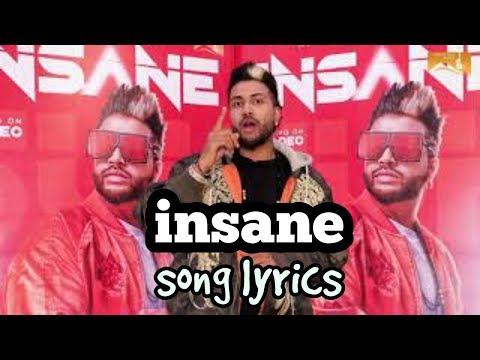 Insane lyrics - Sukhe | Jaani | Arvindr...