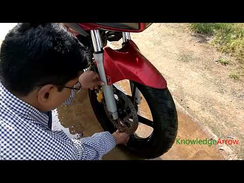 disc brake is not working, use this technique and it will start working immediately