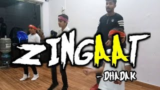ZINGAAT - DHADAK \ KIDS BATCH \ ASHU VISHWAKARMA CHOREOGRAPHY