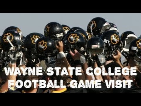 Wayne State College Football Visit | College Tour | Myhouse TV