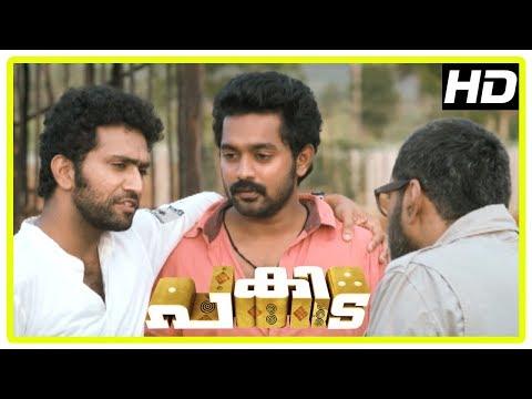 Pakida Movie Scenes   Shine Tom Chacko decides to help Asif and Biju   Malavika Nair