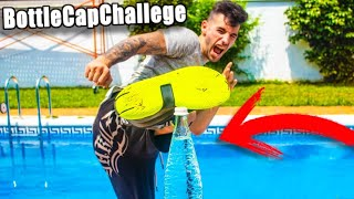 INTENTAMOS HACER EL BOTTLE CUP CHALLENGE !! Makiman