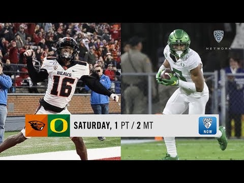 Oregon State-Oregon Football Game Preview