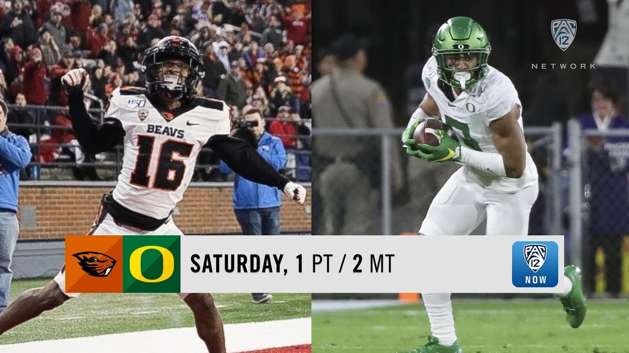 Oregon State-Oregon football game preview MyTub.uz