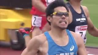 第98回日本陸上競技選手権大会 男子 400m 決勝
