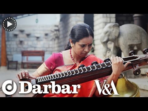 Indian classical music - Jayanthi Kumaresh plays The Saraswati Veena