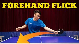 Learning POWERFUL Forehand Flick | MLFM Table Tennis