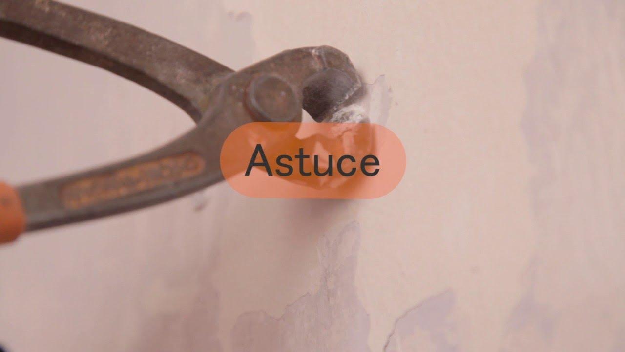Comment Enlever Une Cheville Placo tuto brico : comment retirer une cheville ?