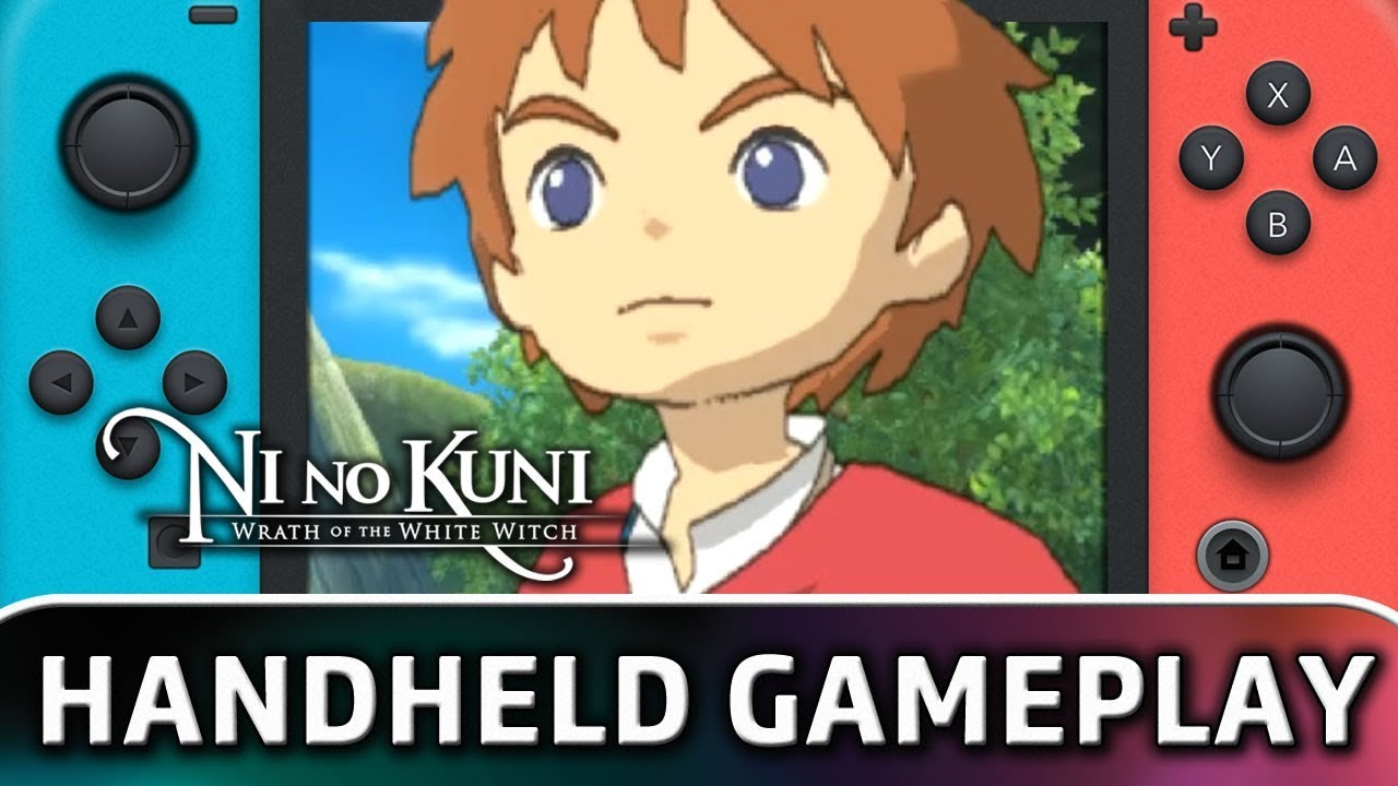 Ni no Kuni: Wrath of the White Witch | 5 Minutes in Handheld MODE on Nintendo Switch
