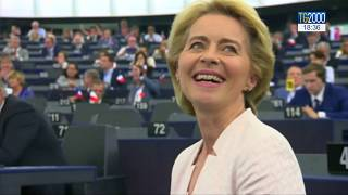 Europa, Gentiloni incontra la Von Der Leyen a Bruxelles