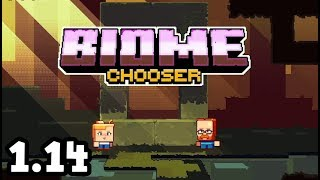 Minecraft 1.14 - BIOME BEING DECIDED At Minecon 2018!!