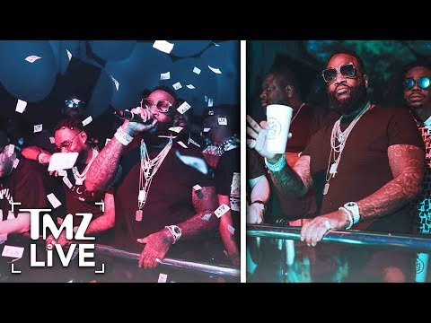 Rick Ross Performs In Miami Day After Vegas Comeback Gig | TMZ Live