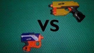 Nerf War : Scout IX-3 Vs Reflex IX-1