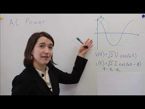 Instantaneous And Average Power For AC Sine Waves