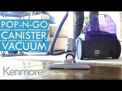 Kenmore Vacuum Cleaners: Pop-N-Go Canister Vacuum Cleaner | Kenmore
