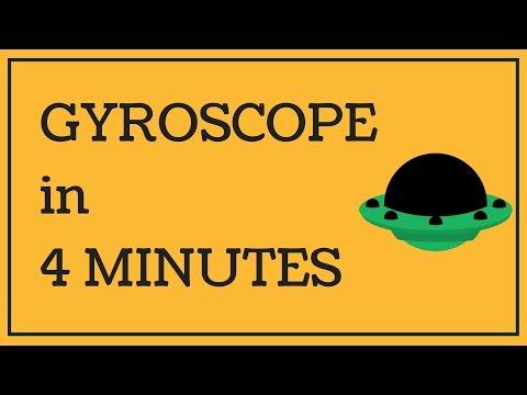Gyroscope - Basics & Equation in 4 MINUTES