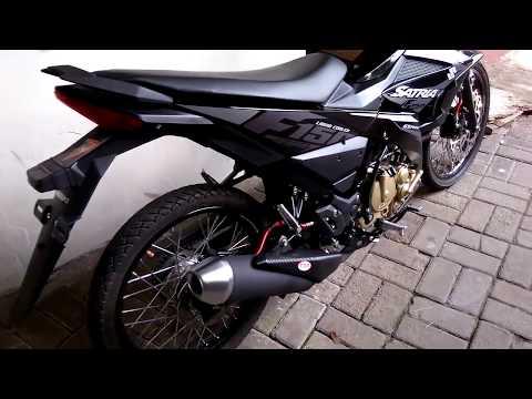 All New Satria F modif Ringan Jari2