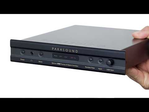 Kaan Talks About Digitizing LPs with Parasound Zphono USB Phono Preamp