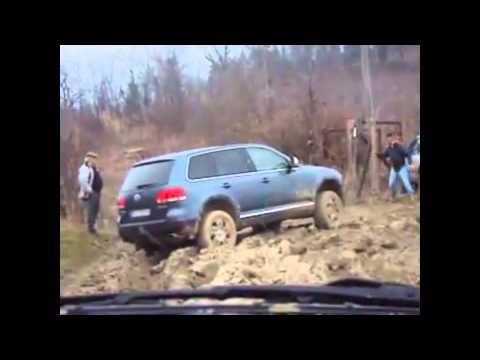 подборка VW Touareg best off-road