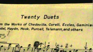 Twenty Duets Flute Part 1