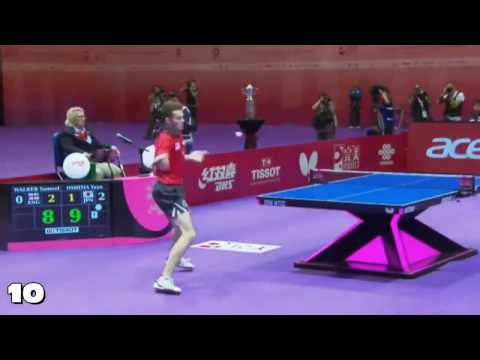 Top 10 Table Tennis Rallies 2016