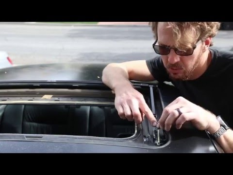 Sunroof Repair How To Fix A Broken Sunroof On A Bmw E36 3