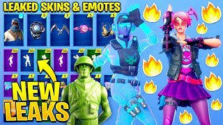 *NEW* All Leaked Fortnite Skins & Emotes..! HOWARD THE ALIEN (Breakpoint, Signature Shuffle)