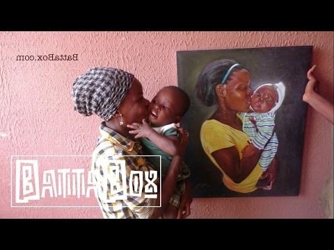 Talented Nigerian Artist Paints ANYTHING from Scratch
