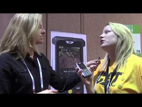 CES 2014: CAT (Caterpillar) B100 Smartphone