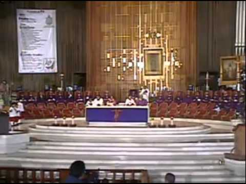 Basílica de Guadalupe. Misa COMPLETA domingo 10 Marzo 2013.