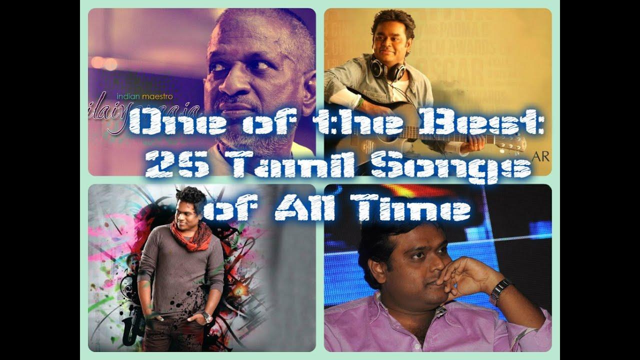 Top 25 tamil songs