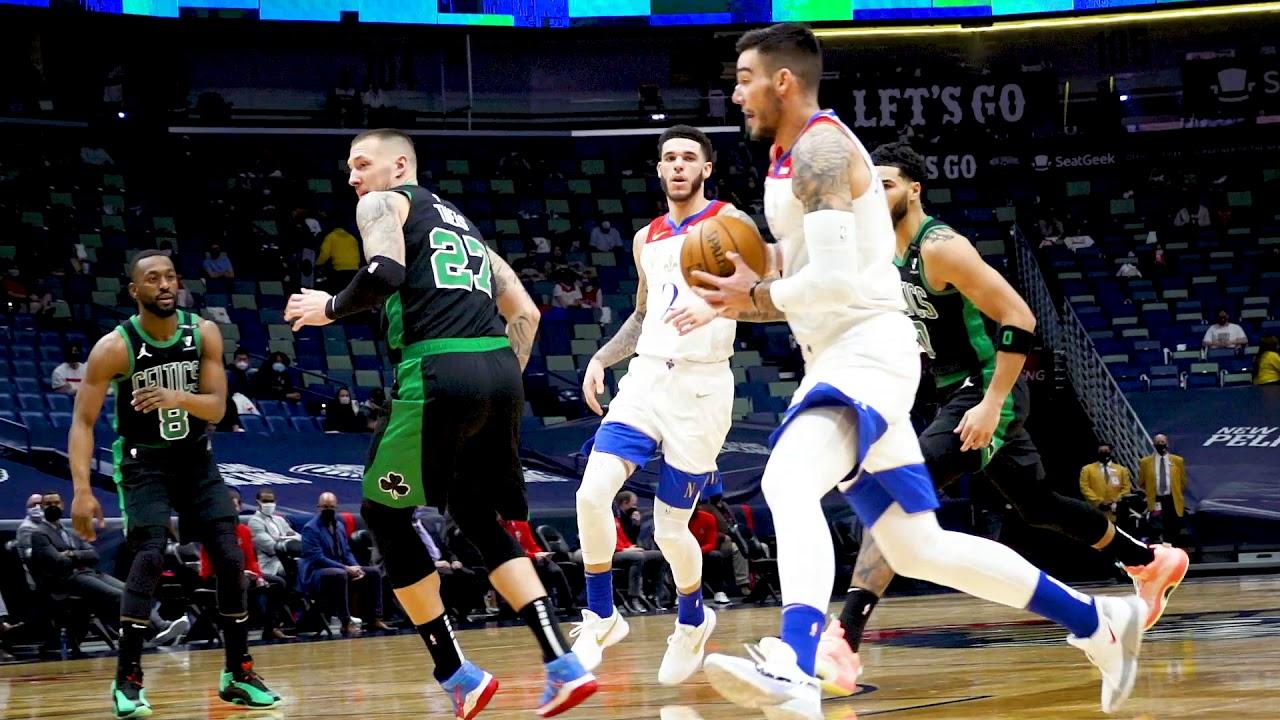 Pelicans vs. Celtics Slo-Mo Highlights 2/21/21 - YouTube