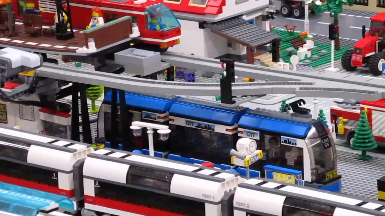 A lego® fan choice, this transport station is packed with details and vehicles. Get out of town your way on 3 different platforms for 4 lego city vehicles.
