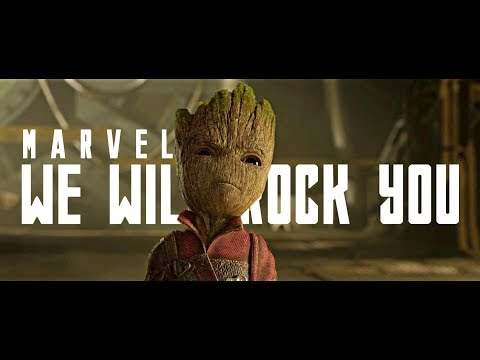 Marvel || We Will Rock You