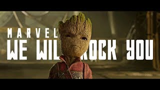 Marvel We Will Rock You