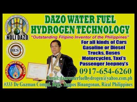 Dazo Water Fuel Hydrogen Technology