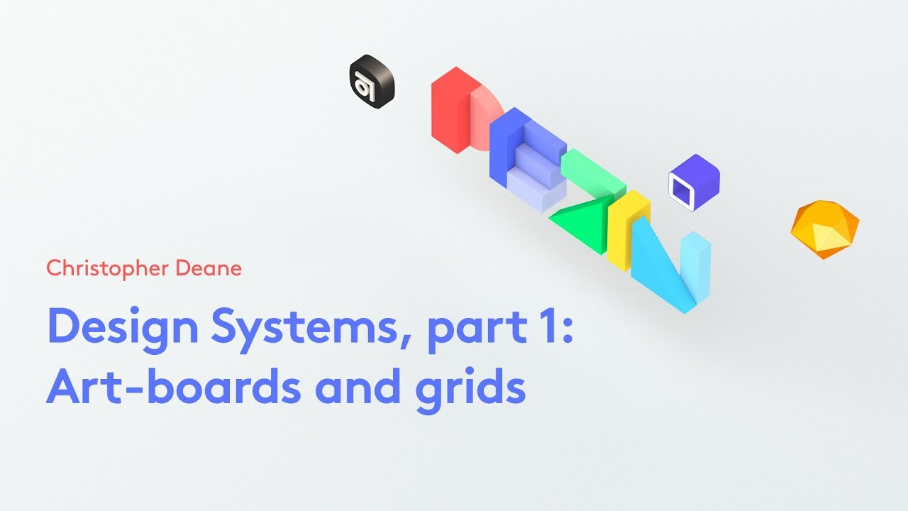 Design Systems, part 1: Art-boards and grids