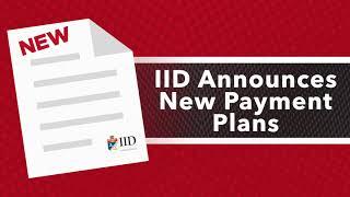 IID - Customer Payment Plans (English)