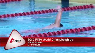FINA World Championships 2015: Pang Shen Jun  (Team Singapore)