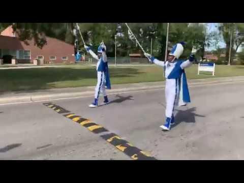 Elizabeth City State University Marching Band 2019