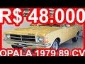 PASTORE R$ 48.000 Chevrolet Opala Comodoro 1979 Bege Itapema MT4 aro 13 RWD 2.5 89 cv 18 mkgf #Opala