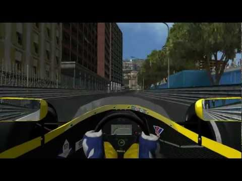 rFactor F1 1991 Benetton Ford Monaco 90