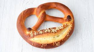 Настоящие БРЕЦЕЛИ ☆ Рецепт из Германии ☆ Laugenbrezeln